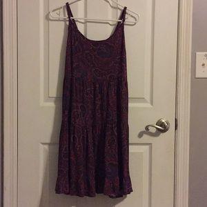 light summer flowy dress